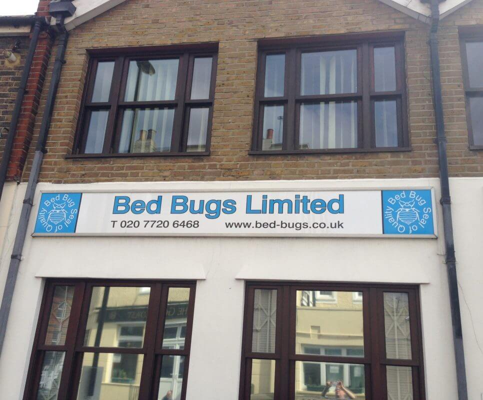 by Bed Bugs Limited of London, experts in bed bug detection, removal and treatment