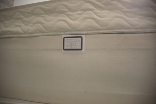 Bed Bug passive monitor installed on to a divan by Bed Bugs Limited of London