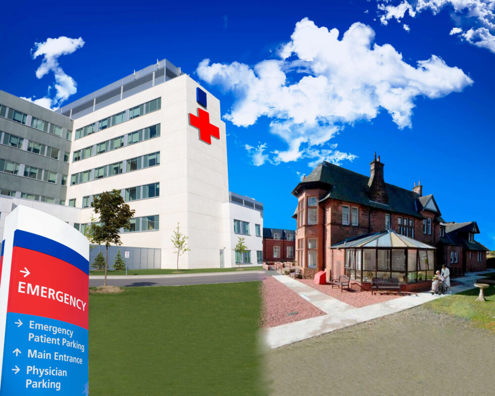 Hospitals and Residential Care
