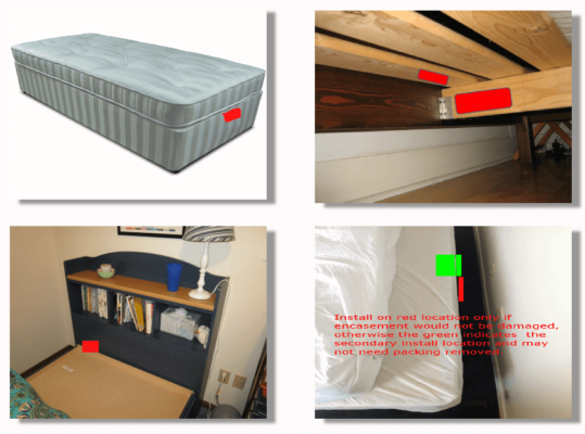 Bed Bugs Passive Monitors